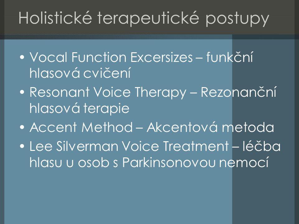 Holistické terapeutické postupy