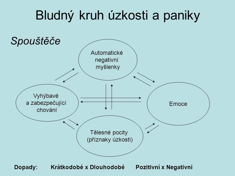 Bludný kruh úzkosti a paniky
