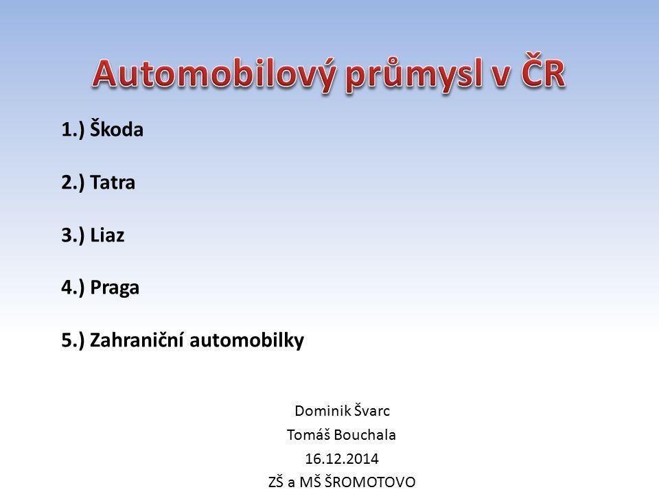 Automobilový průmysl v ČR