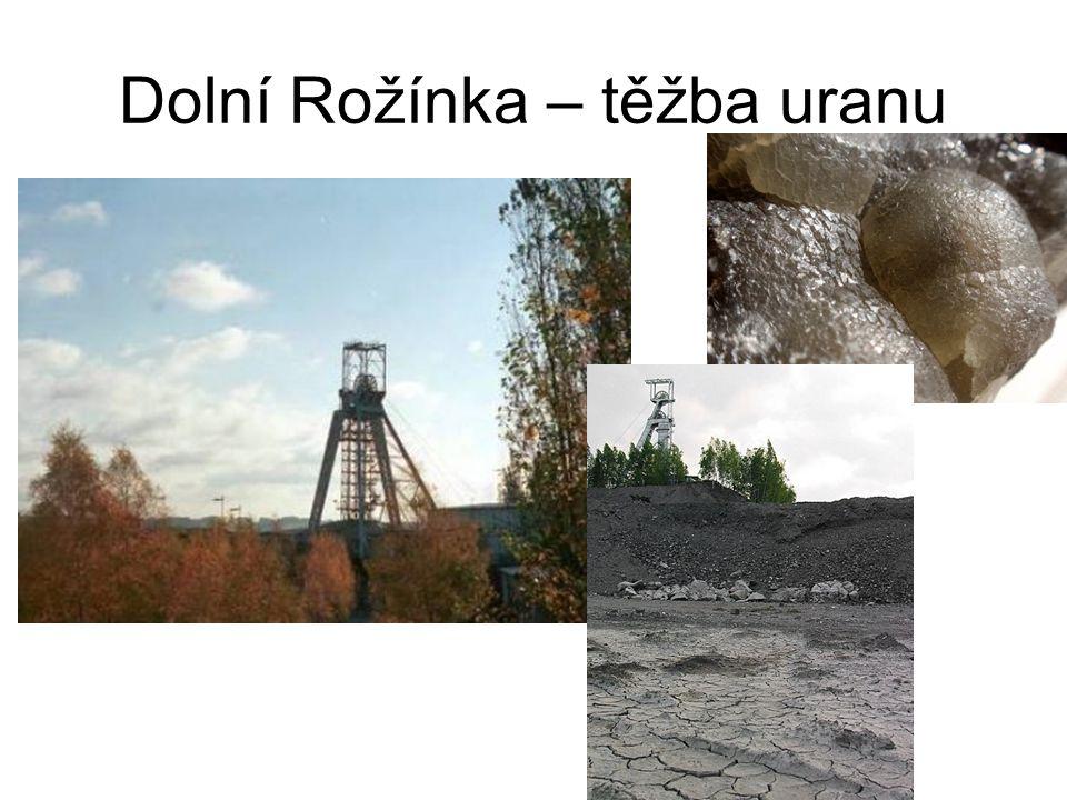 Dolní Rožínka – těžba uranu