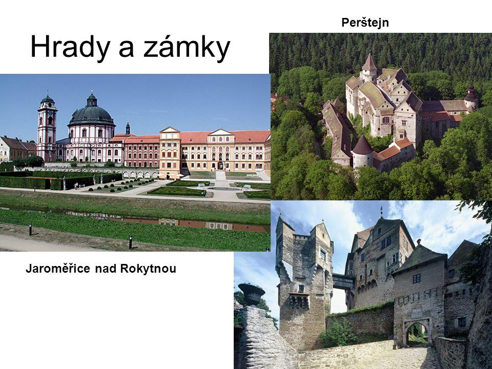 Hrady a zámky Perštejn Jaroměřice nad Rokytnou