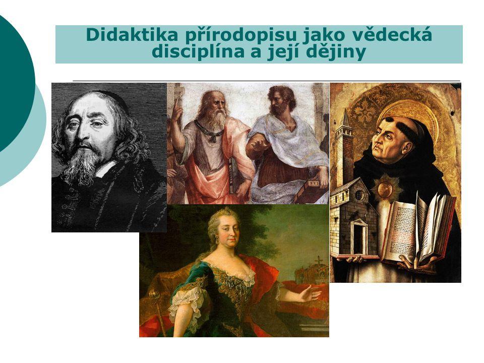Didaktika přírodopisu jako vědecká disciplína a její dějiny