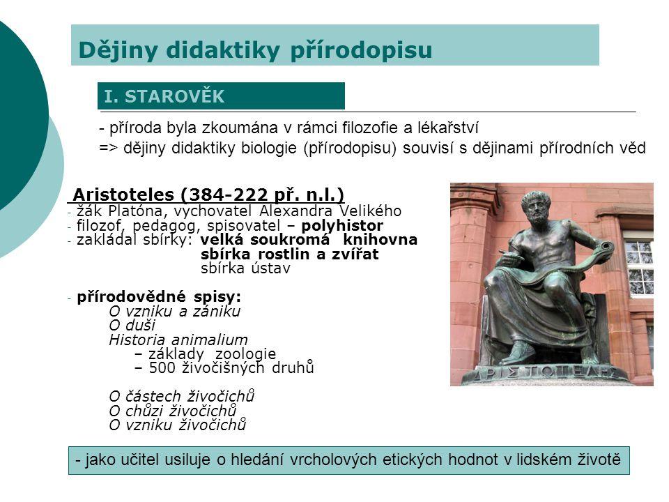 Dějiny didaktiky přírodopisu