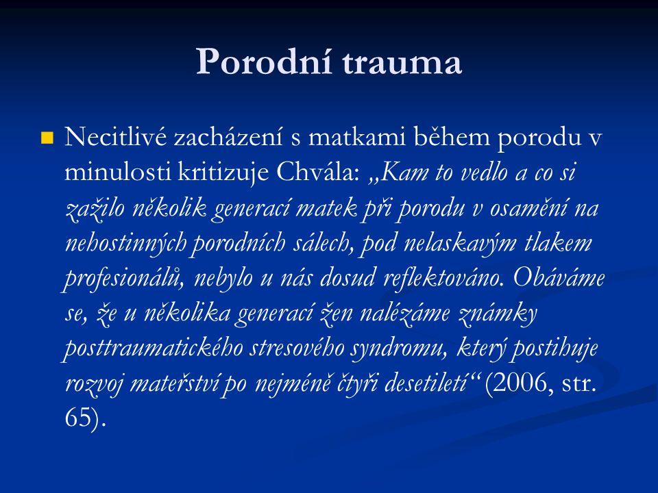 Porodní trauma