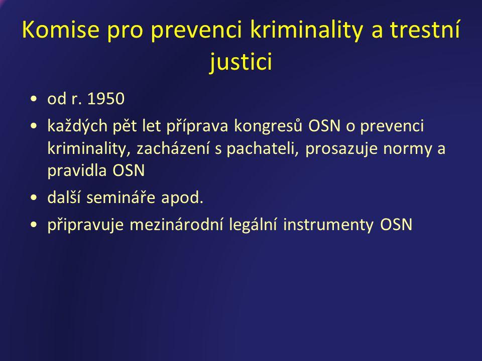 Komise pro prevenci kriminality a trestní justici