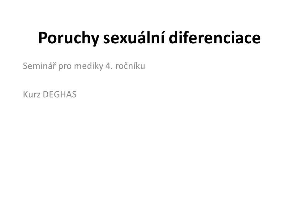 Poruchy sexuální diferenciace