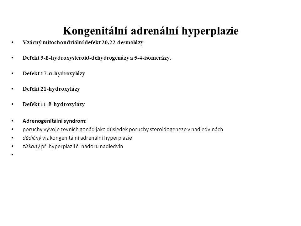 Kongenitální adrenální hyperplazie