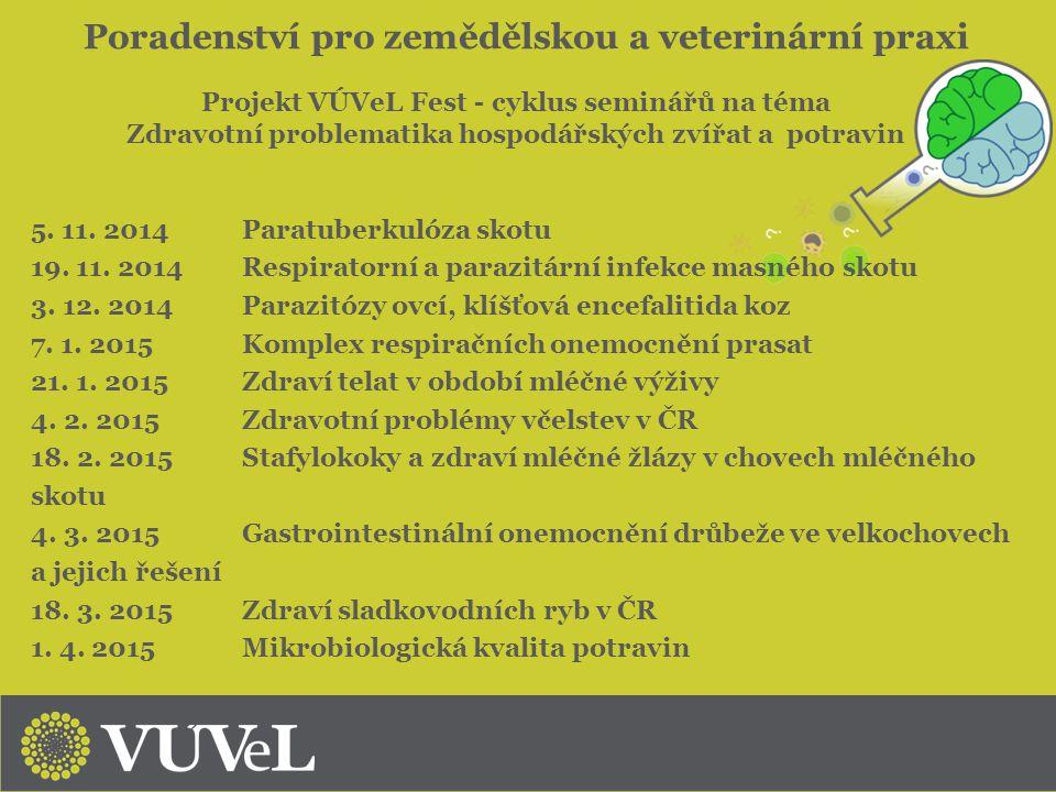Poradenství pro zemědělskou a veterinární praxi