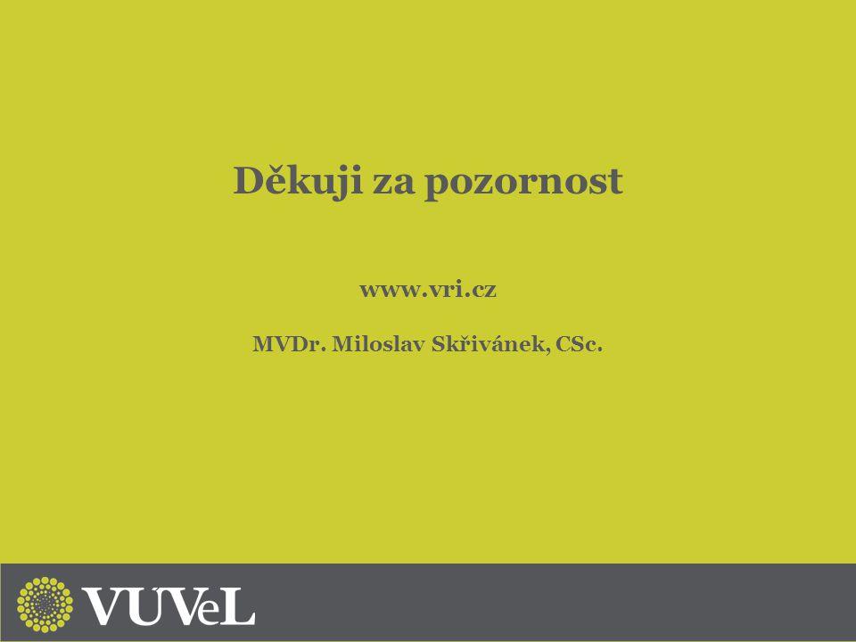 MVDr. Miloslav Skřivánek, CSc.