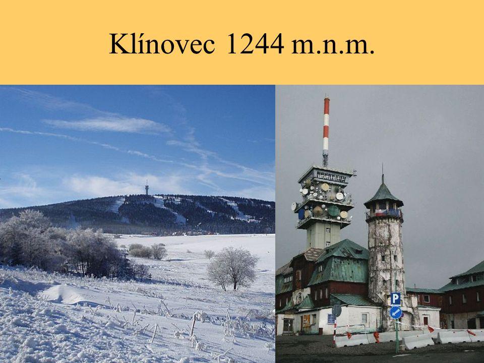 Klínovec 1244 m.n.m.