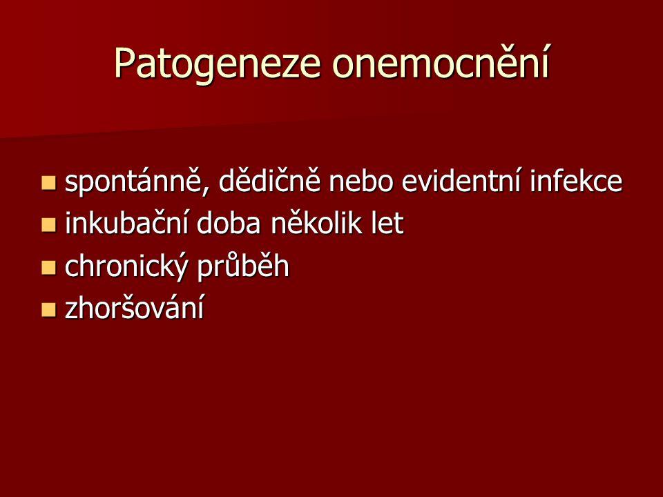Patogeneze onemocnění