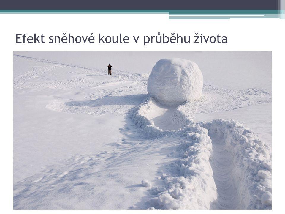 Efekt sněhové koule v průběhu života