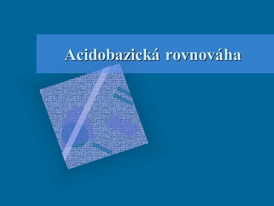 Acidobazická rovnováha