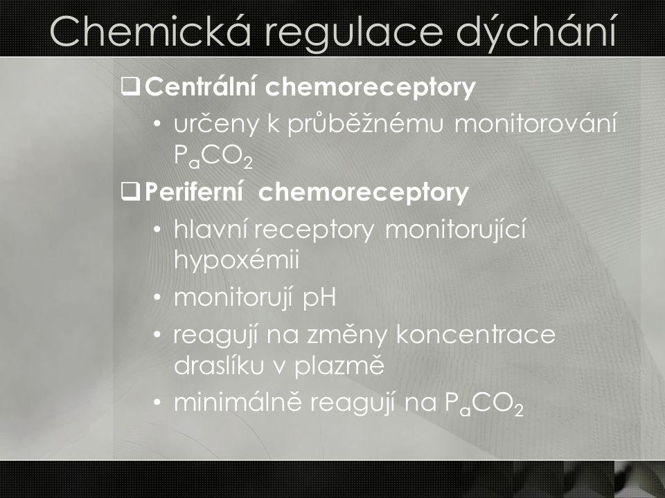Chemická regulace dýchání