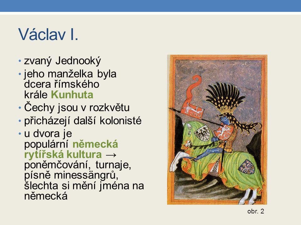 Václav I. zvaný Jednooký