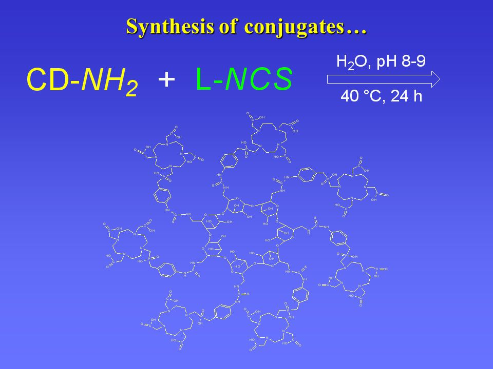Synthesis of conjugates …