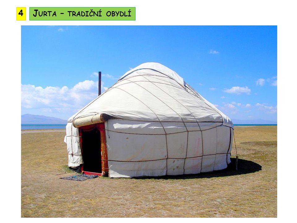 Jurta – tradiční obydlí