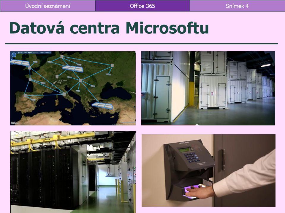 Datová centra Microsoftu