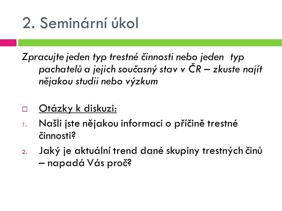 2. Seminární úkol