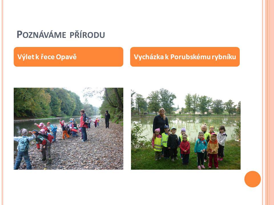 Poznáváme přírodu Výlet k řece Opavě Vycházka k Porubskému rybníku