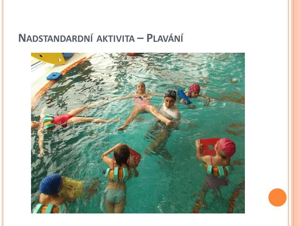 Nadstandardní aktivita – Plavání
