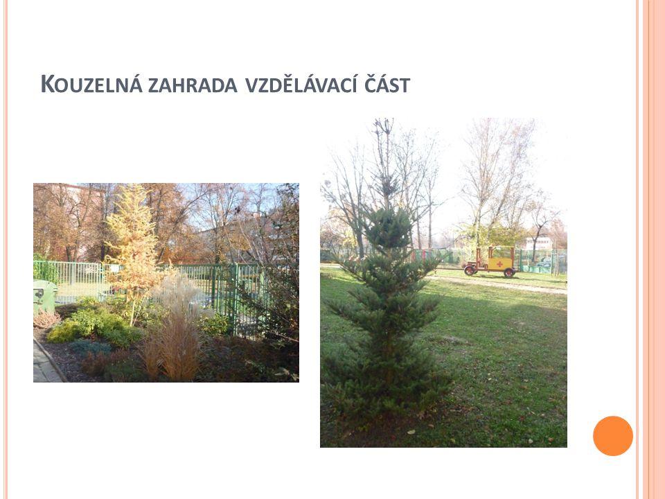 Kouzelná zahrada vzdělávací část