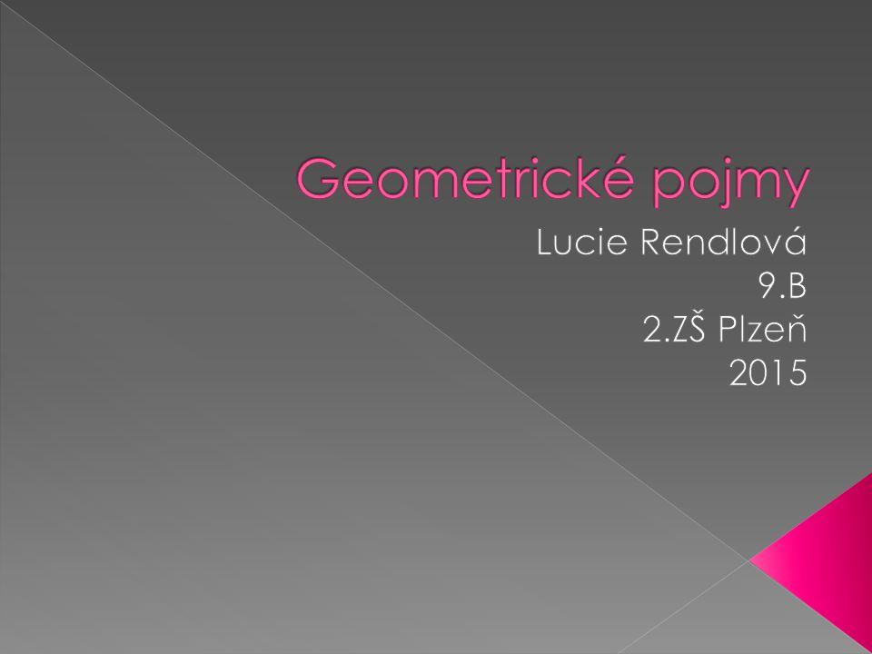 Lucie Rendlová 9.B 2.ZŠ Plzeň 2015