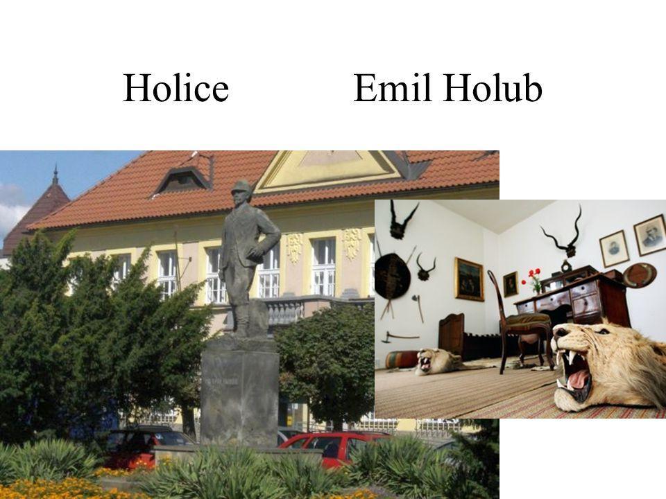 Holice Emil Holub