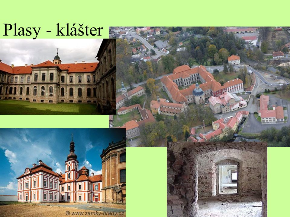 Plasy - klášter