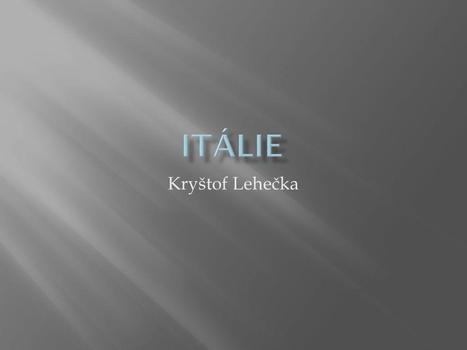 Itálie Kryštof Lehečka