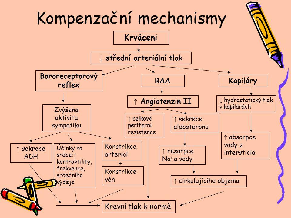 Kompenzační mechanismy