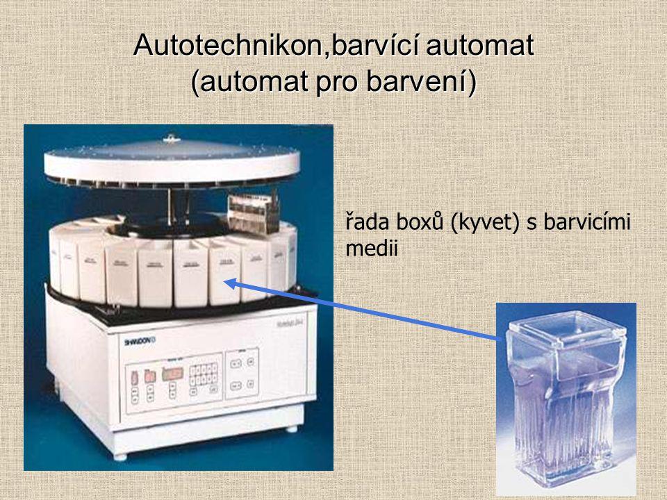 Autotechnikon,barvící automat (automat pro barvení)