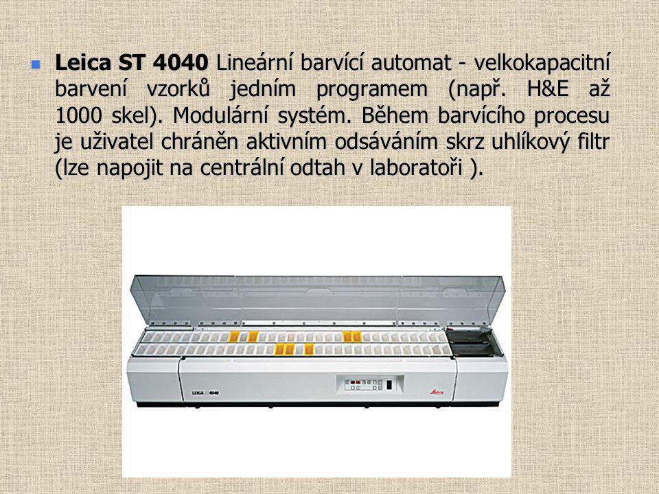 Leica ST 4040 Lineární barvící automat - velkokapacitní barvení vzorků jedním programem (např.