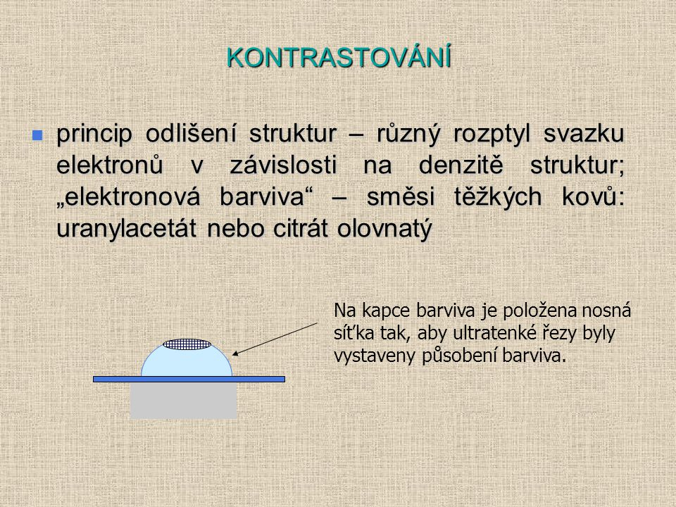 KONTRASTOVÁNÍ