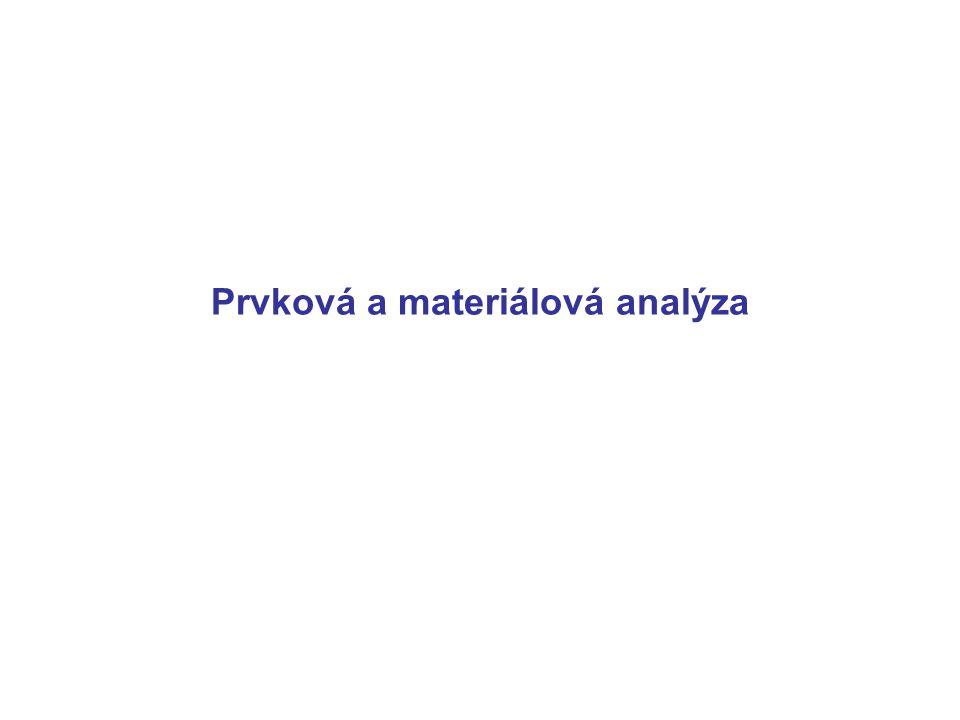 Prvková a materiálová analýza