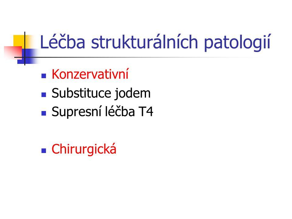 Léčba strukturálních patologií