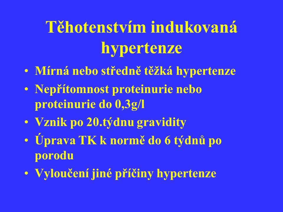 Těhotenstvím indukovaná hypertenze