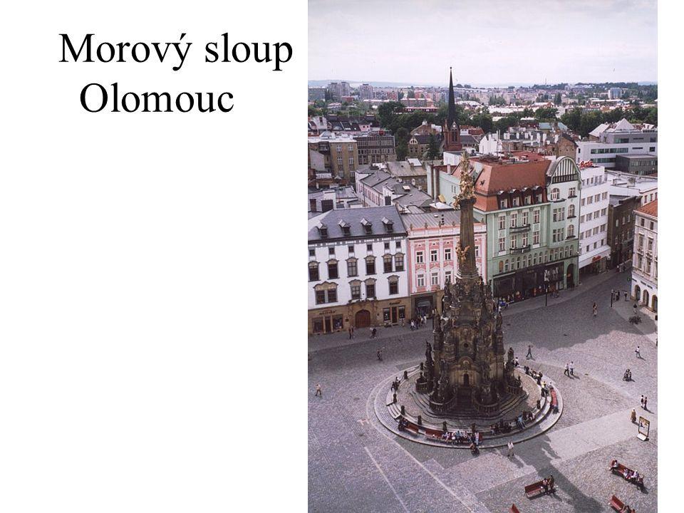 Morový sloup Olomouc