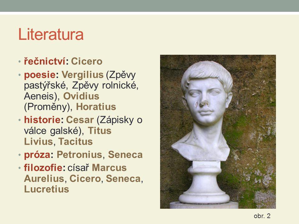 Literatura řečnictví: Cicero