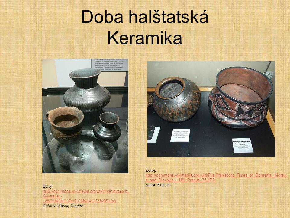 Doba halštatská Keramika