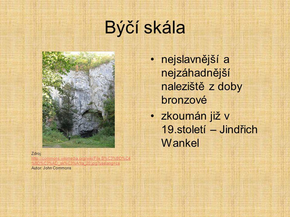 Býčí skála nejslavnější a nejzáhadnější naleziště z doby bronzové