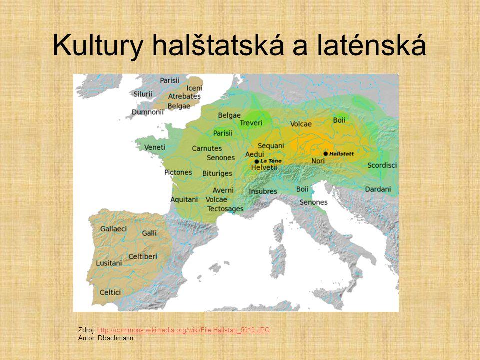 Kultury halštatská a laténská