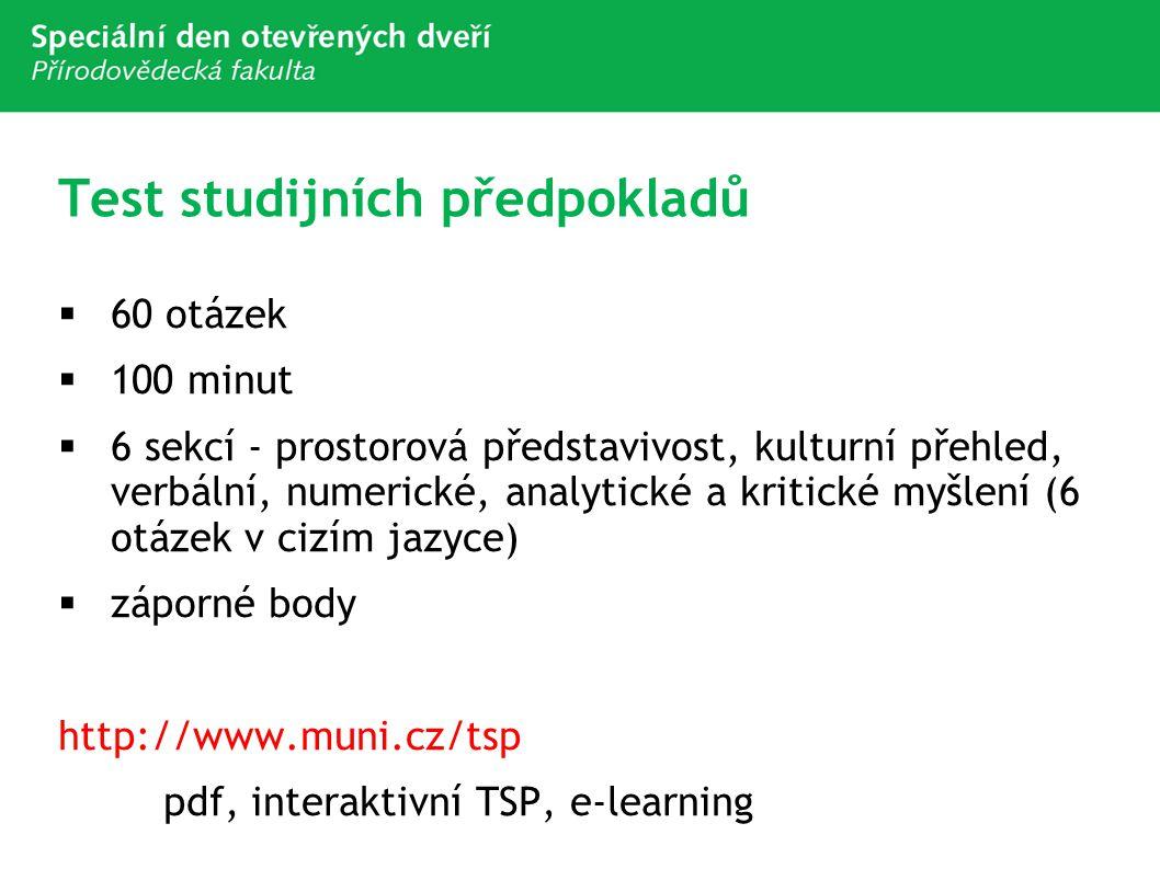 Test studijních předpokladů