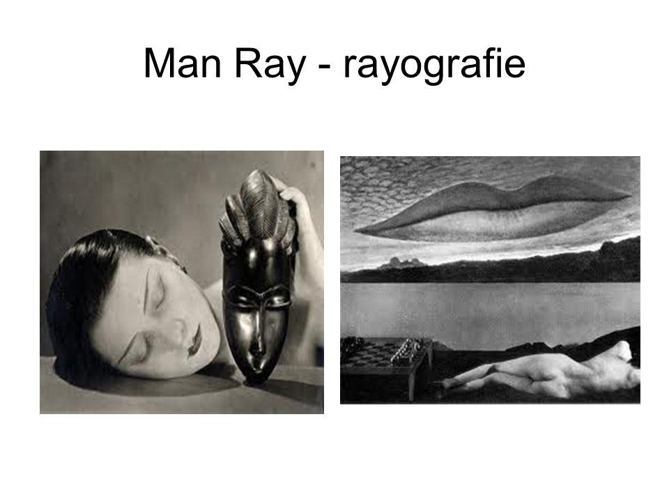 Man Ray - rayografie