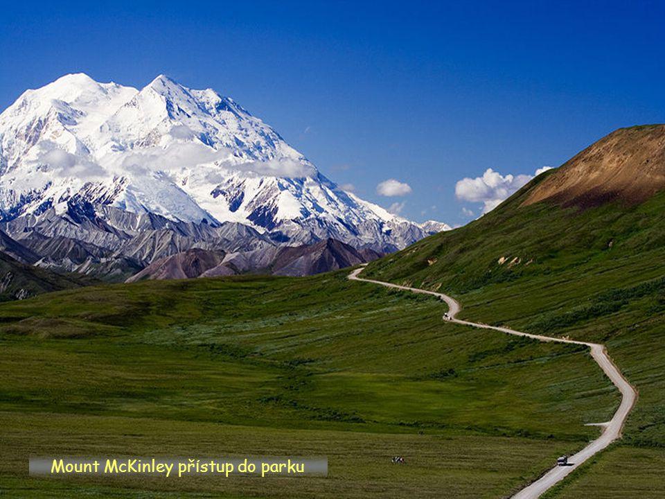 Mount McKinley přístup do parku