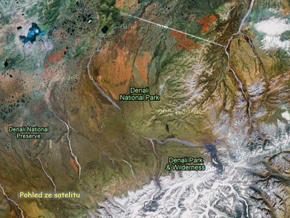 Pohled ze satelitu