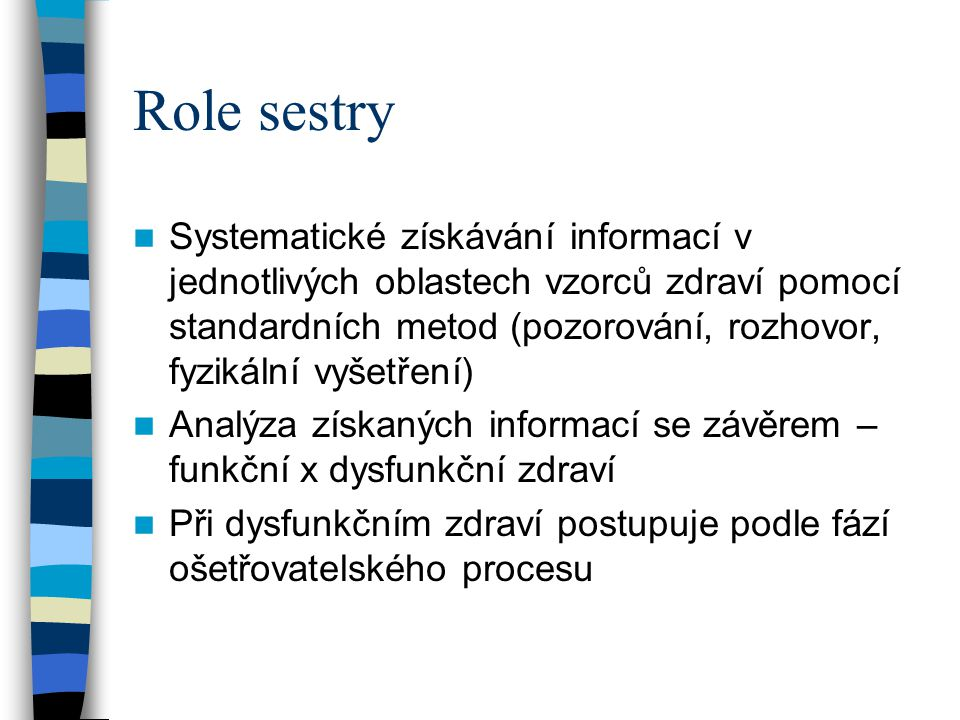 Role sestry