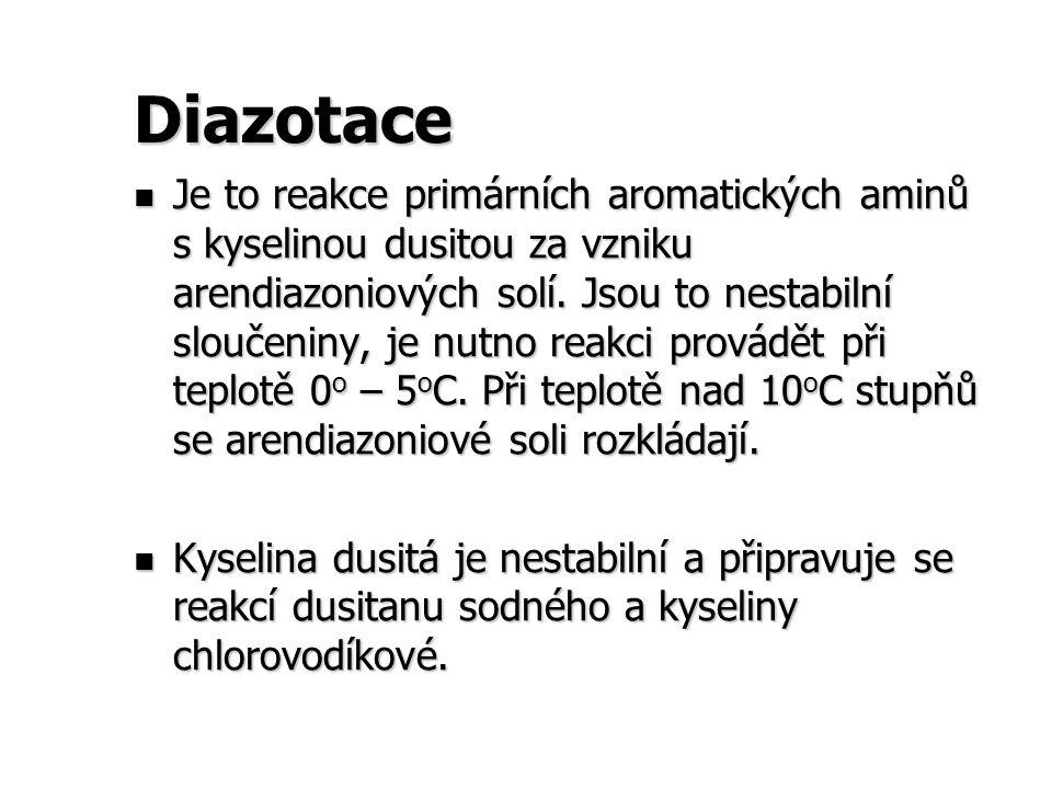 Diazotace