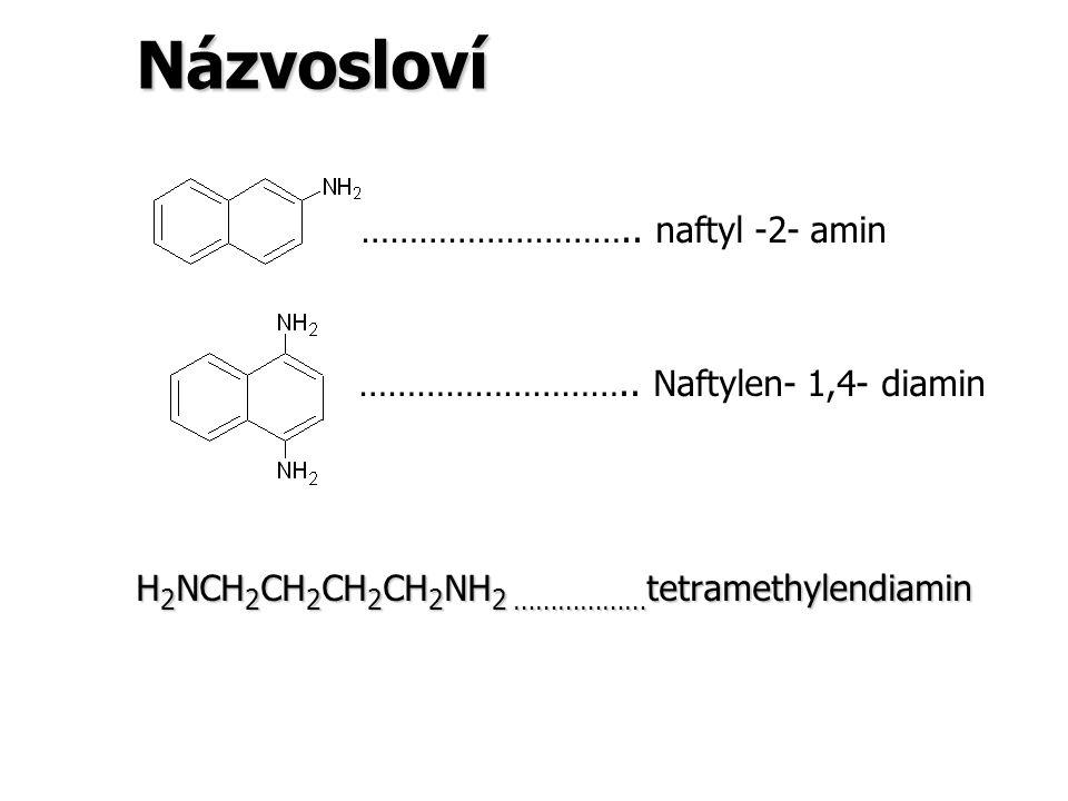 Názvosloví ……………………….. naftyl -2- amin