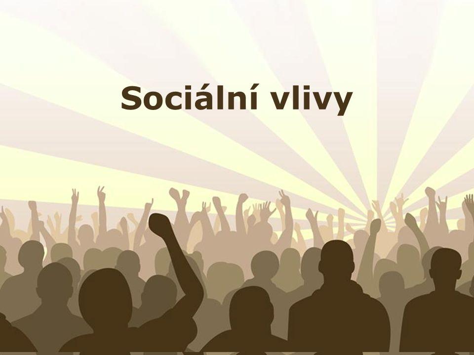 Sociální vlivy Free Powerpoint Templates
